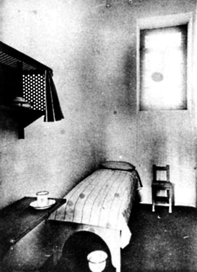 Celda del centro penitenciario de El Dueso
