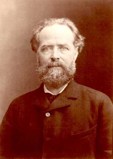 Élisée Reclus fotografiat per Nadar