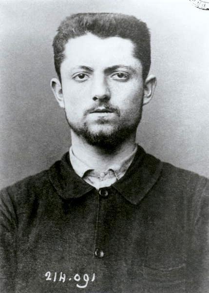 Foto antropomètrica d'Émile Henry
