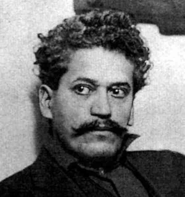 Enrique Flores Magón pres a Los Ángeles (Califòrnia, EUA), en 1917