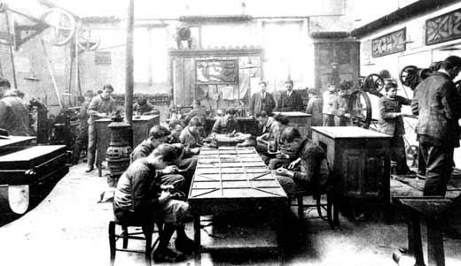 Fàbrica de sabates francesa