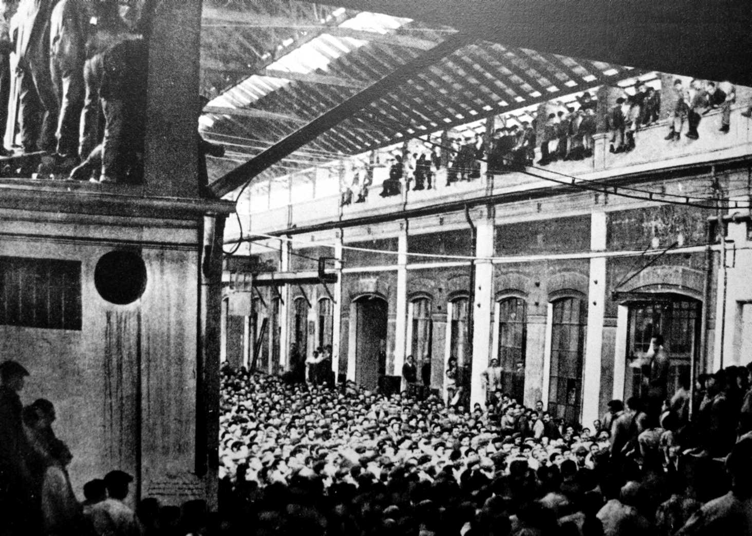 Assemblea a la fàbrica Fiat (Torí, 1920)