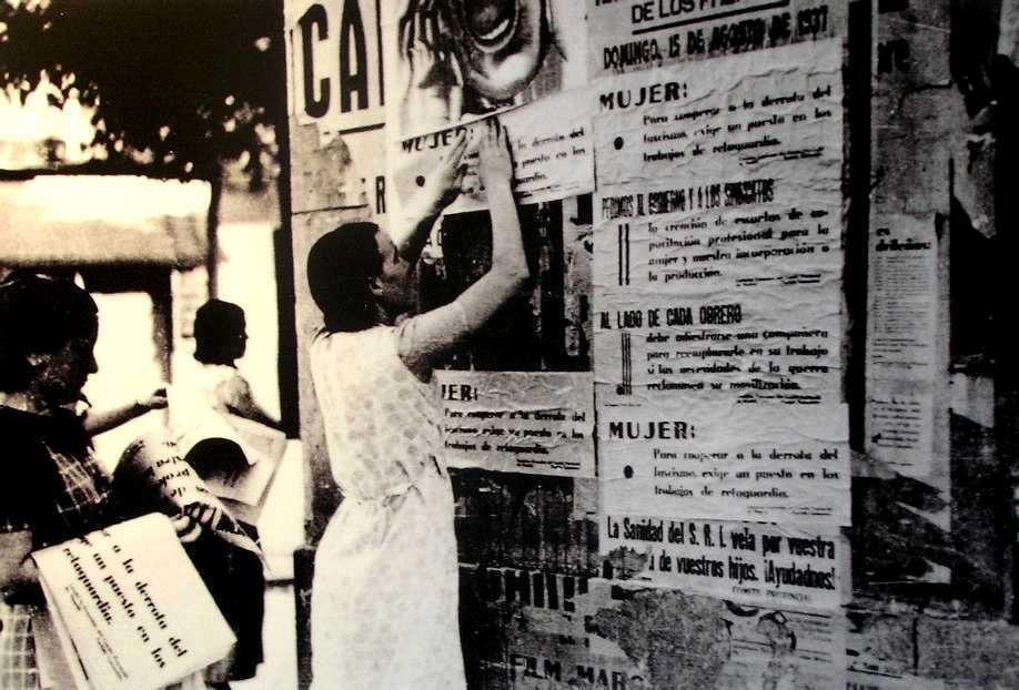 Haciendo propaganda (1937)