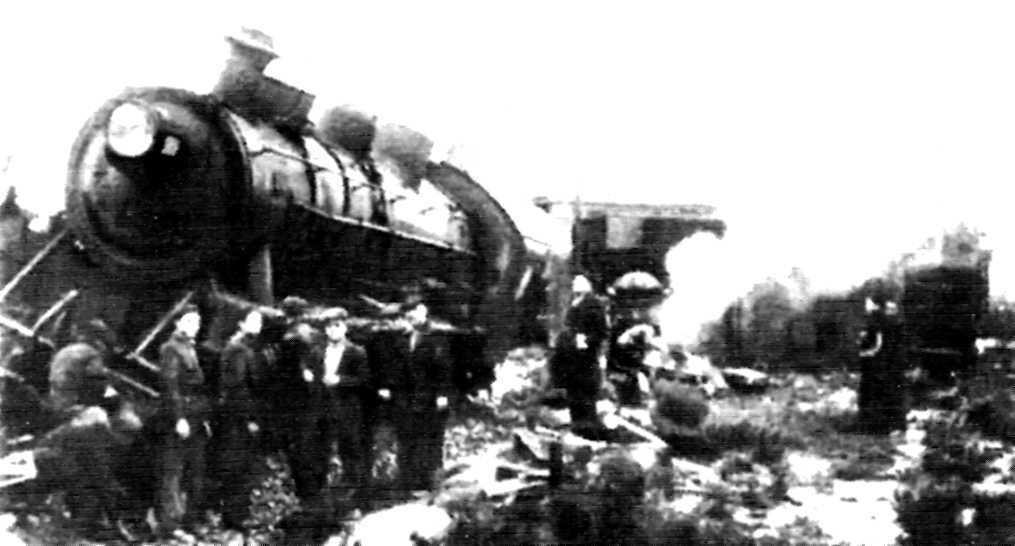 Atac al ferrocarril a Zuera durant els fets de desembre de 1933