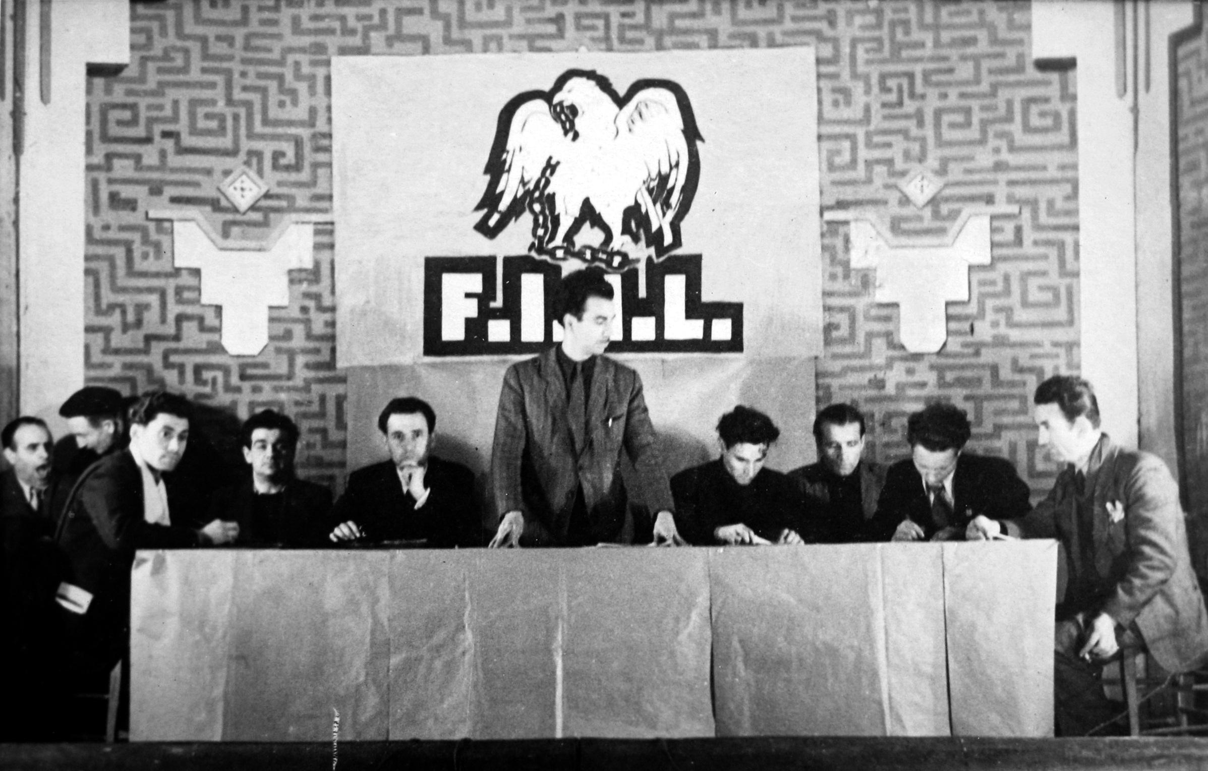 Reunió de la Federació Ibèrica de Joventuts Llibertàries