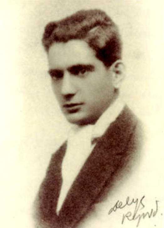 Florentino Galván Trías amb 18 anys