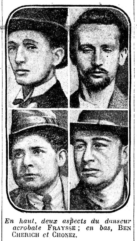 """Baptistin Fraysse i els seus companys segons el diari parisenc """"Le Journal"""" del 12 de gener de 1927"""