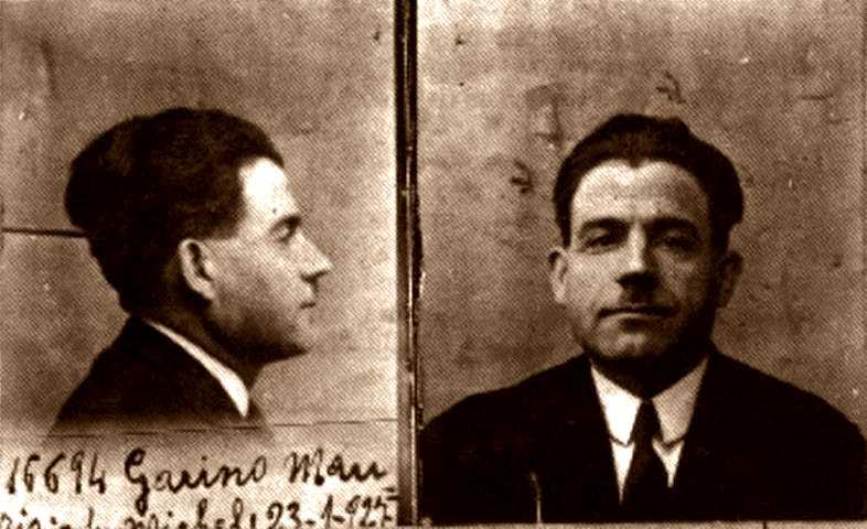 Foto policíaca de Maurizio Garino (1927)