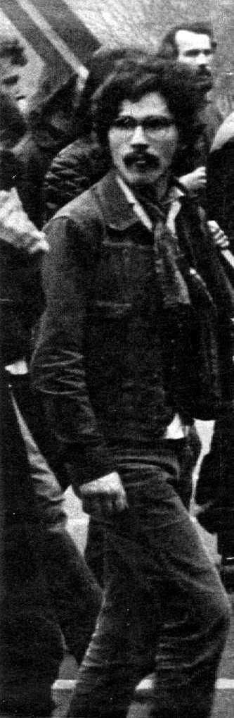 Georg von Rauch en una manifestació