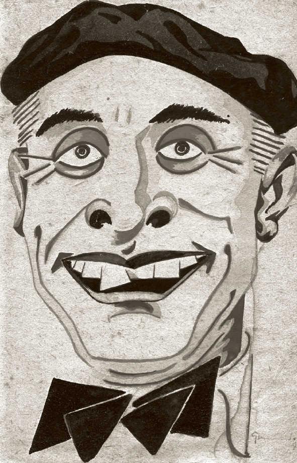Caricatura de Juan González González