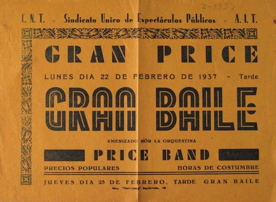 Full volant del Gran Ball al Gran Price