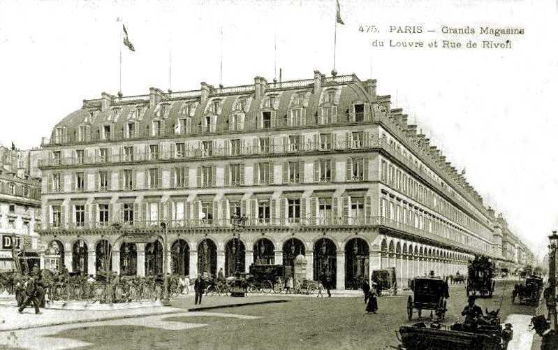 Grans Magatzems del Louvre de París, un dels lloc preferits d'actuació de Gogumus