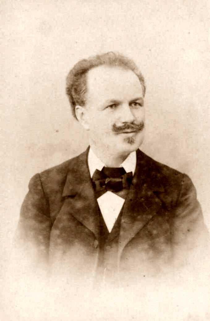 Jacques Gross-Fulpius fotografiat per O. Meistring (1896) [IISH]