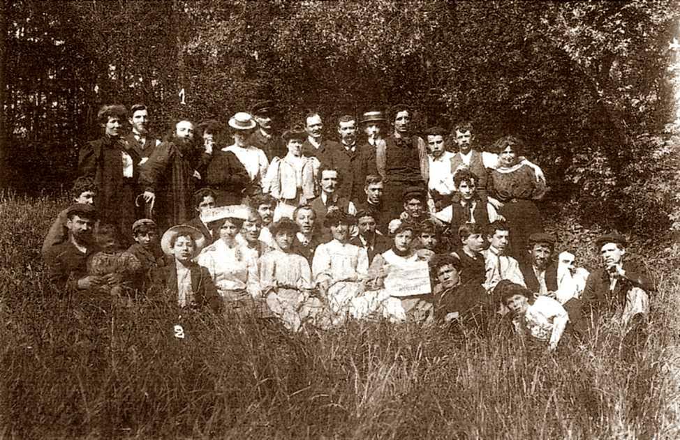 """El grup editor del periòdic """"L'Anarchie"""" (1911)"""