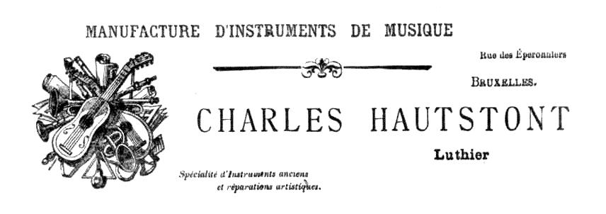 Capçalera publicitària de Charles Hautstont