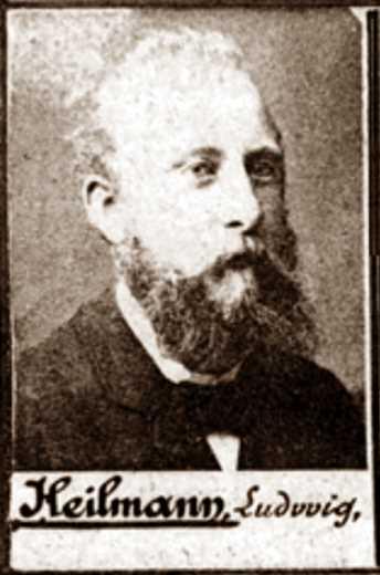 Foto policíaca de Ludwig Heilmann (ca. 1894)