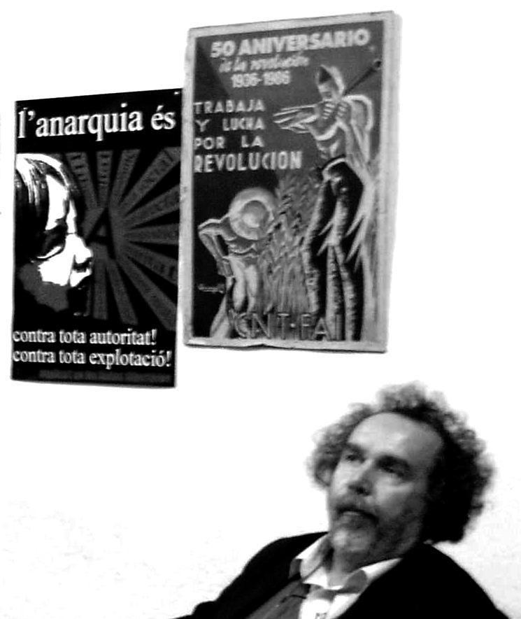 Horts Stowasser a l'Ateneu Llibertari Estel Negre de Palma (3 d'abril de 2009)