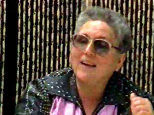 """Hortensia Torres en el documental """"De toda la vida"""" (1986)"""