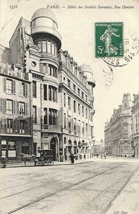 L'Hôtel des Sociétés Savantes