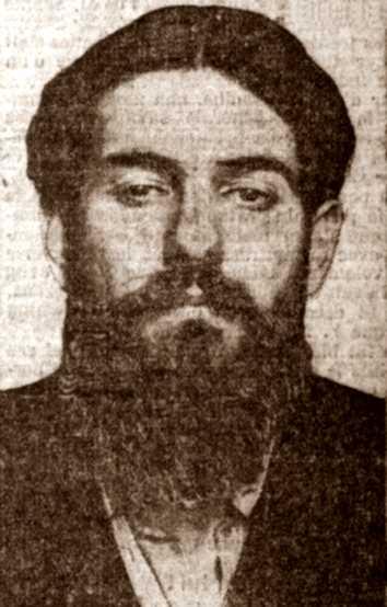 Foto policíaca d'Indalecio Ibáñez