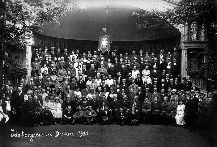 Congrés Intenacional d'Ido (Dessau, 1922)