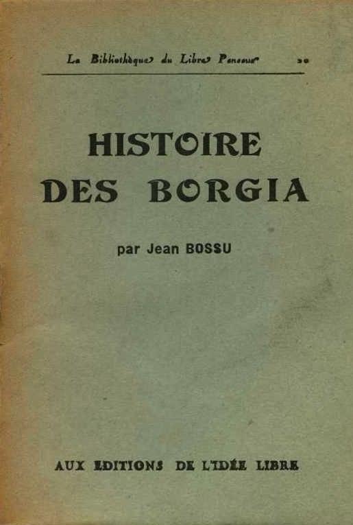Coberta d'una obra de Jean Bossu