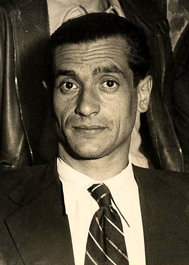 Joaquín Ascaso Budría, president del Consell d'Aragó, fotografiat per Albero y Segovia