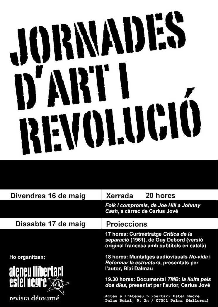 Jornades d'art i revolució
