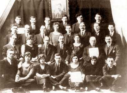 Grup anarquista jueu de Londres (ca. 1925)