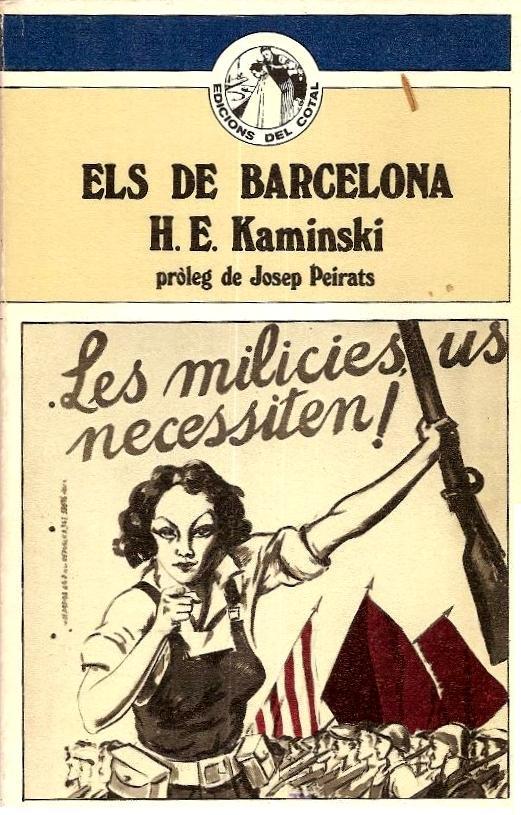 Portada de l'edició catalana del llibre de Kaminski