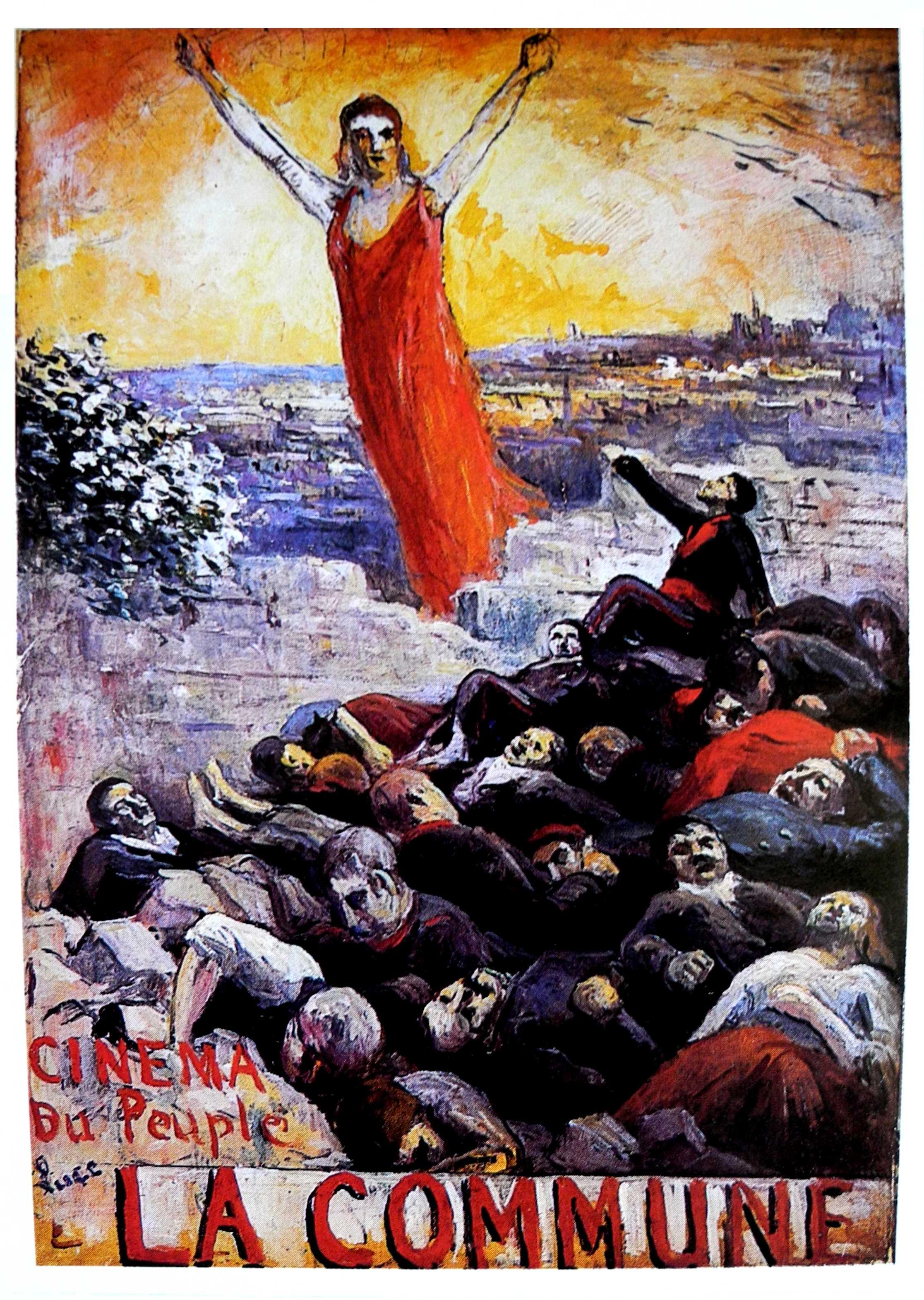 Cartell de la pel·lícula realitzat per Maximilien Luce