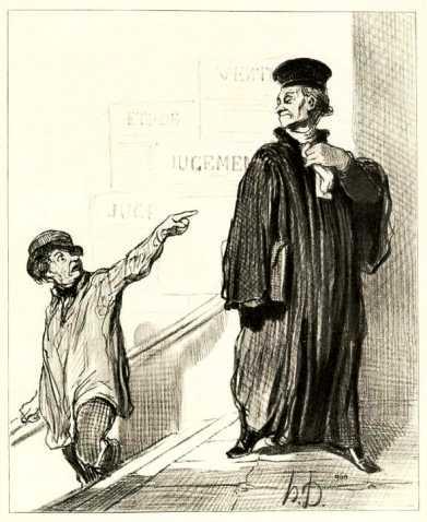 """""""La Loi"""", d'Honoré Daumier"""