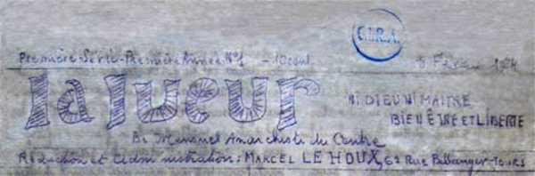 """Cabecera de """"La lueurs"""" [CIRA]"""
