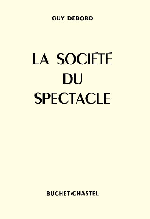 """Primera edició de """"La société du spectacle"""" (1967)"""