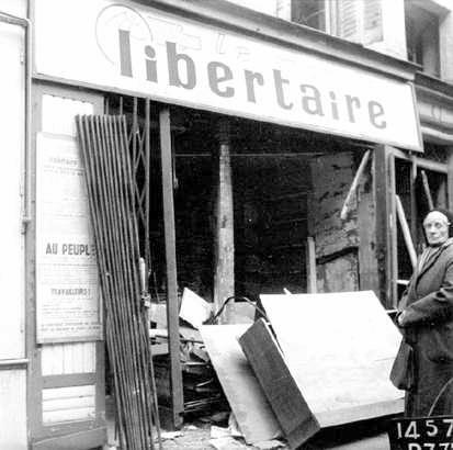 """Seu de """"Le Monde Libertaire"""" després de l'atemptat"""