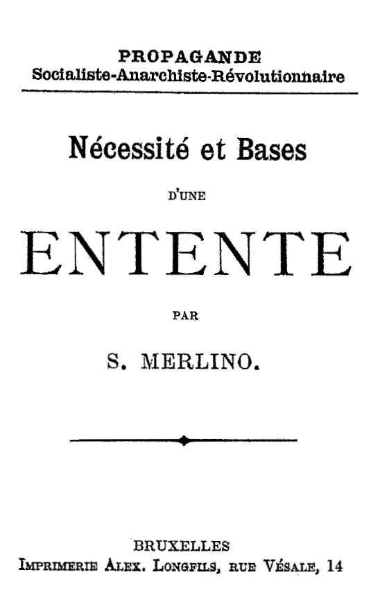 Llibre de Merlino imprès per Alexandre Longfils