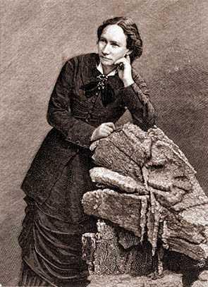 Louise Michel després de la seva deportació a Nouméa (Nova Caledònia, 1873-1880)