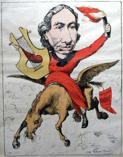 """Gilbert-Martin: «La citoyenne Louise Michel» (""""Le Don Quichotte"""", 5 de maig de 1882)"""