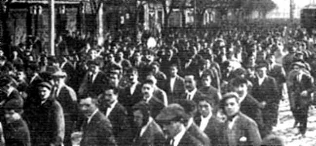 Manifestació del 27 de març de 1917 a Madrid