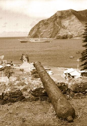 """Illa presidi de Más Afuera, on va estar deportat """"El Petiso"""""""
