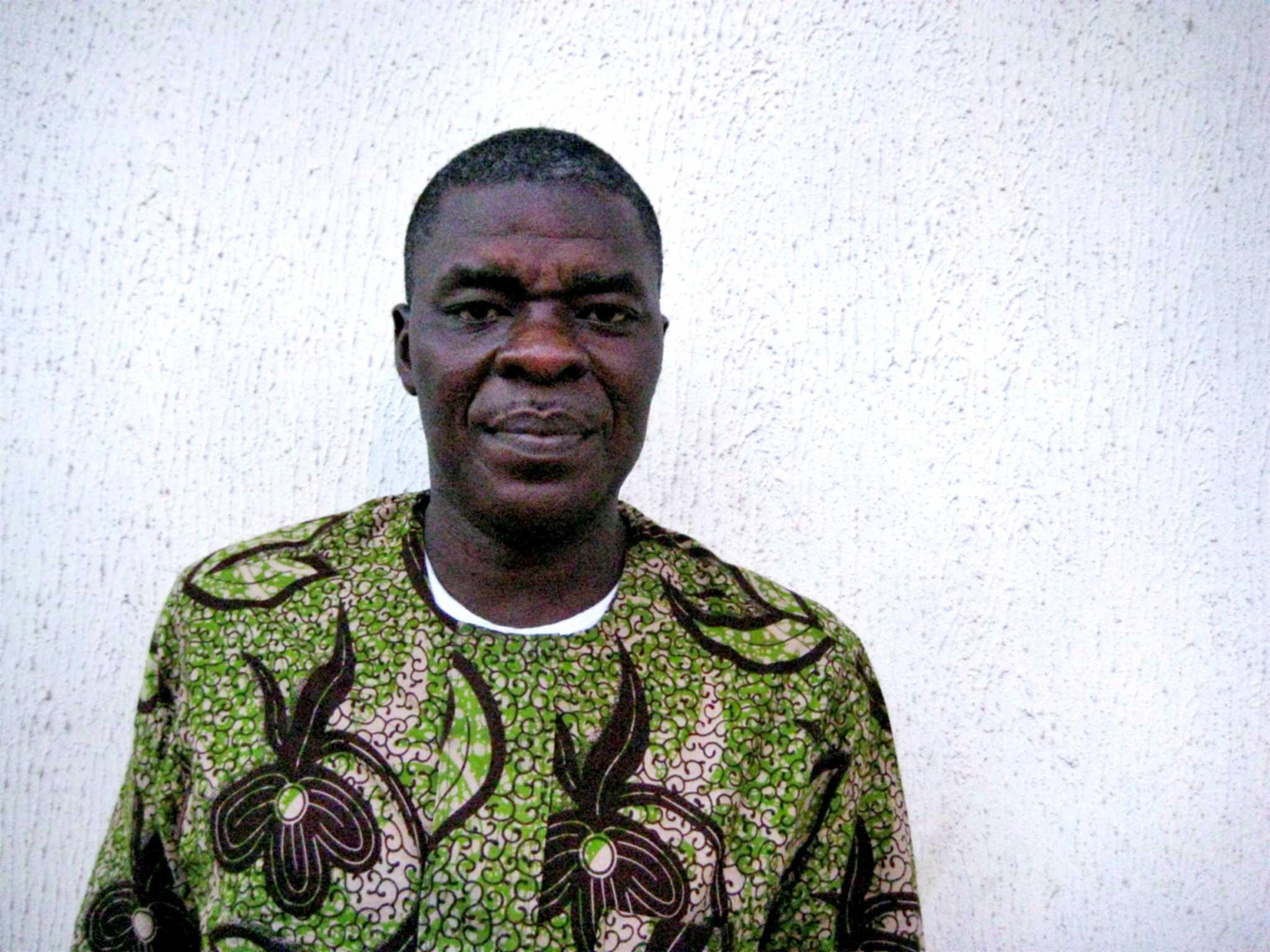 Sam Mbah fotografiat per Tracey Morgan