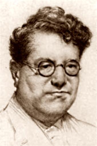 Régis Messac retratat per Guillaume Desgranges (1938)