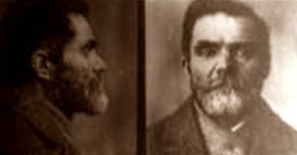 Foto policíaca de Temistocle Monticelli