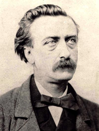 Multatuli fotografiat per C. Mitkiewicz (Brussel·les, 1864)