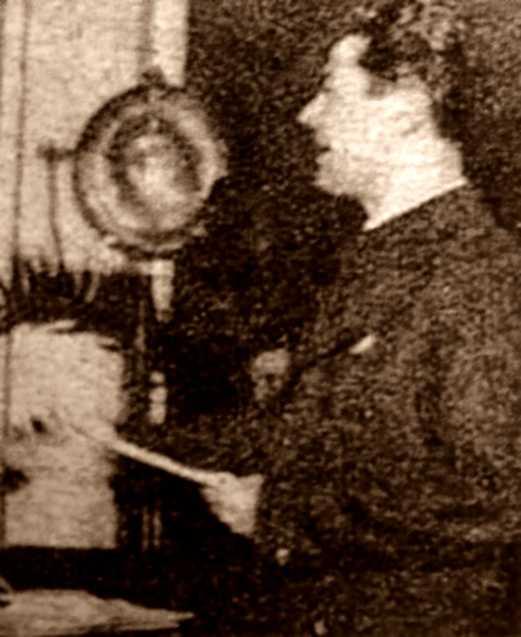 Emilio Navarro Beltrán en la seva intervenció en el Ple Nacional Econòmic Ampliat (gener de 1938)