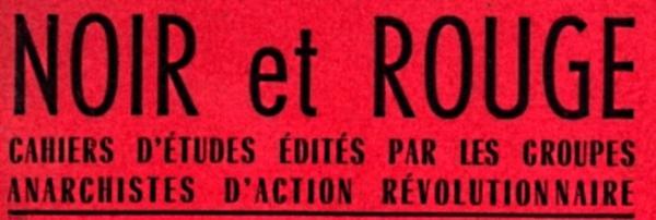 """Capçalera de """"Noir et Rouge"""""""
