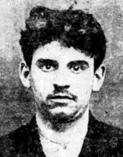 Foto policíaca de Louis Noury (1913)