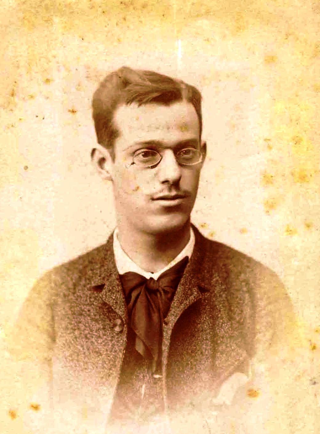 Odón de Buen (ca. 1886)