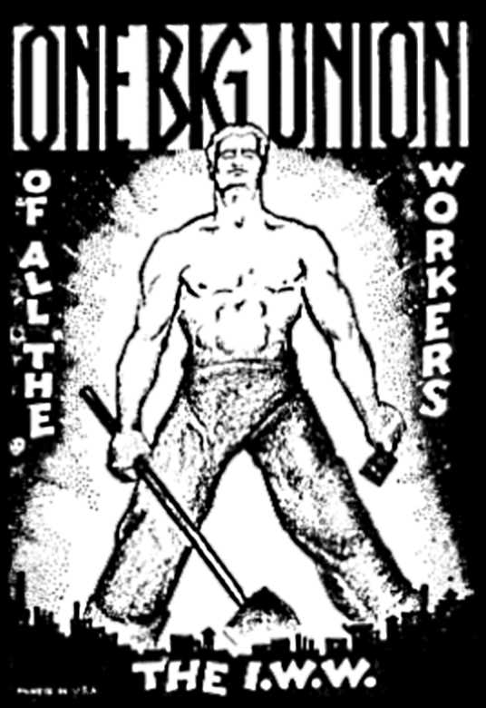 Cartell de l'IWW de 1905