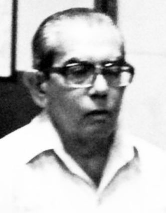 Benito Pabón en la seva época de professor en l'Escola de Periodisme de la Universitat de Panamà